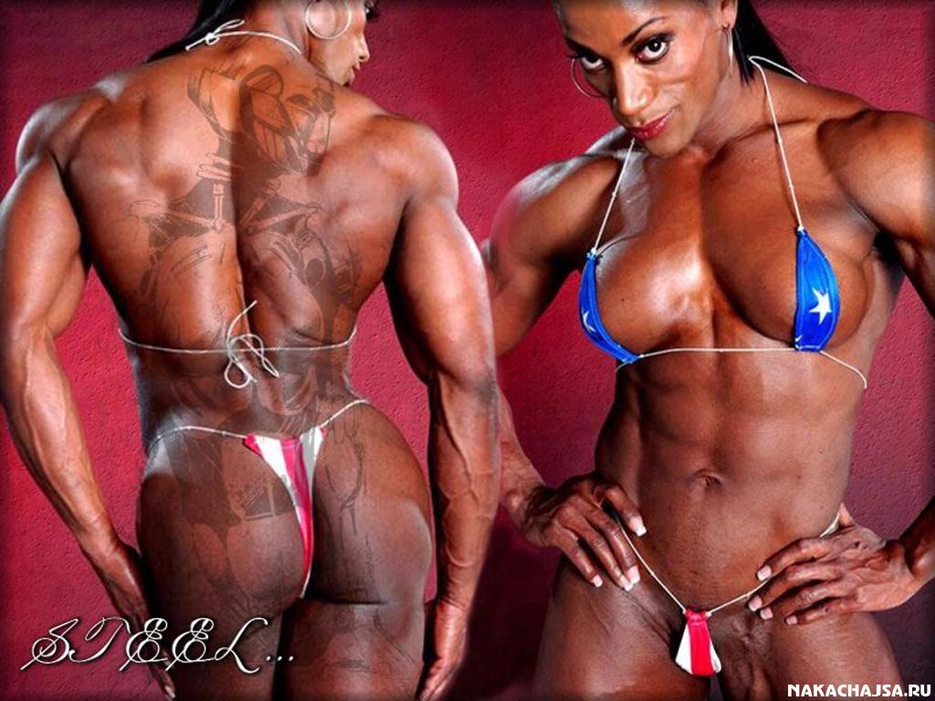 женский бодибилдинг фото голых